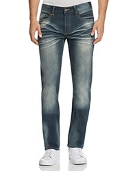Buffalo Six X Slim Straight Jeans In Blue Compare At 119