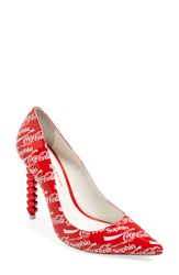 Sophia Webster 'Coco' Pointy Toe Pump Women Red