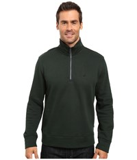 Nautica 1 4 Zip Pullover Kelp Seas Men's Clothing Black