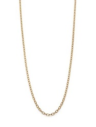 Temple St. Clair 18K Yellow Gold Extra Small Oval Link Necklace Chain 18