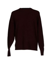 Balenciaga Knitwear Jumpers Men Maroon