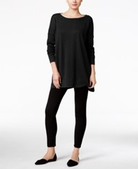 Styleandco. Style Co. Dolman Sleeve Tunic Sweater Only At Macy's Deep Black