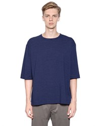 Antonio Marras Striped Cotton Jersey T Shirt
