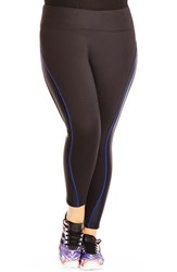 Plus Size Women's City Chic Ankle Length Sport Leggings Plus Size
