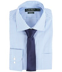 Lauren Ralph Lauren Slim Spread Collar Shirt Lavender Men's Long Sleeve Button Up Purple