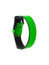 Dsquared2 Buckle Fastening Bracelet Green