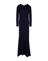 George J. Love Long Dresses Dark Blue