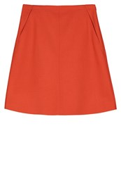 Marc O'polo Aline Skirt Red Clay
