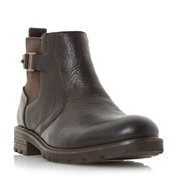 Tommy Hilfiger Curtis 14A Buckle Strap Boots Brown
