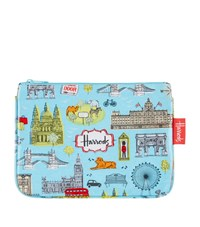 Harrods London Map Cosmetic Bag Unisex