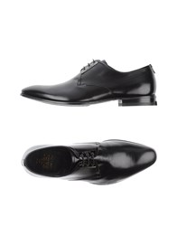 Fabi Footwear Lace Up Shoes Men Black
