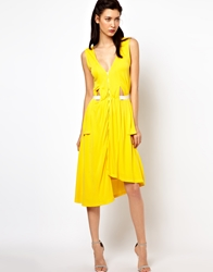 Kore By Sophia Kokosalaki Drape Side Panel Dress
