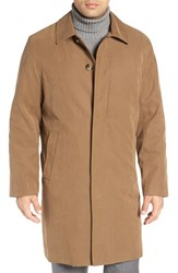 London Fog Men's Rain Coat British Khaki