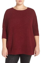Plus Size Women's Bb Dakota 'Bethany' Dolman Sleeve Tunic Top