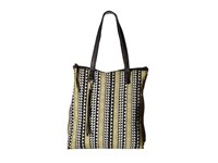 Volcom Tribal Babe Tote Black Tote Handbags