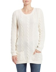 Context Cableknit Sweater Ivory