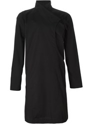 Alchemy Asymmetric Wrap Shirt Black