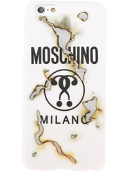 Moschino Question Mark Iphone 6 Case White