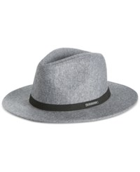 Sean John Men's Felt Wide Brim Fedora Grey