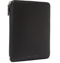 Marc By Marc Jacobs Grained Leather Portfolio Black
