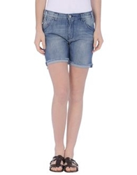 Jcolor Denim Shorts Blue