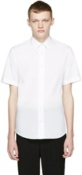 Acne Studios White Otis Pop Shirt