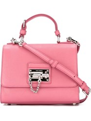 Dolce And Gabbana 'Monica' Tote Pink And Purple
