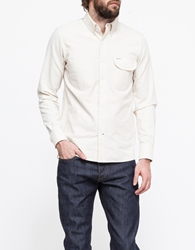 Rogue Territory Jumper Shirt Ls Ecru Chambray