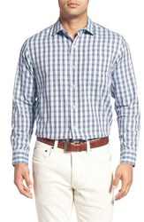 Tommy Bahama Men's Big And Tall Cayes Regular Fit Plaid Sport Shirt