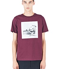 Yang Li When You Are Bored T Shirt Burgundy