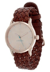 Triwa Rose Lansen Watch Dunkelbraun Copper