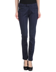 Amy Gee Casual Pants Dark Blue