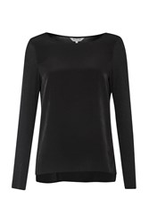 Great Plains Creature Comforts Long Sleeve Top Black