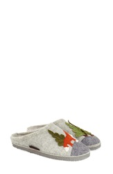 Giesswein 'Laura' Slipper Women Grey Wool