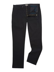 Linea Russell Cotton Chinos Black
