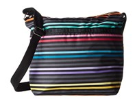 Le Sport Sac Small Cleo Crossbody Lestripe Black Cross Body Handbags Multi