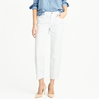 J.Crew Wide Leg Crop Jean In White