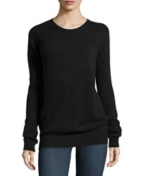 Stella Mccartney Cashmere Blend Pullover Sweater Black