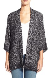 Women's Chaus Open Front Marled Cardigan