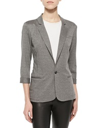 Soft Joie Neville French Terry Fitted Blazer