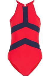 Perfect Moment Nordic Swimsuit Red Blue