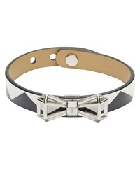 Ted Baker Addaley Geometric Bow Leather Bracelet