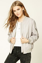 Forever 21 Faux Fur Lined Bomber Jacket