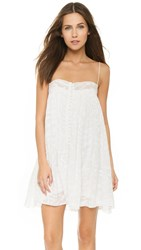 Young Fabulous And Broke Yfb Clothing Bevy Dress True White