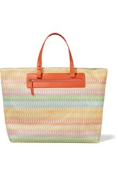 Missoni Crochet Knit Tote Multi
