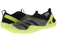 Adidas Outdoor Climacool Jawpaw Slip On Base Green Black Semi Solar Yellow Men's Shoes Brown