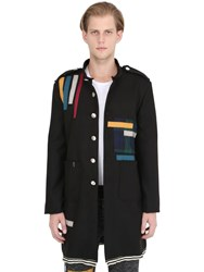 Mrkt Military Coat W Grosgrain Patches