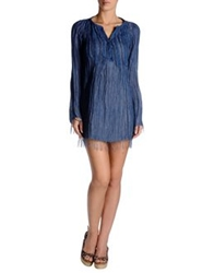 Ermanno Scervino Beachwear Cover Ups Slate Blue