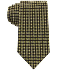 Club Room Men's Floral Neat Tie Only At Macy's Yellow