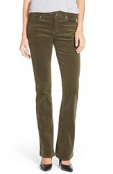 Women's Kut From The Kloth Baby Bootcut Corduroy Jeans Dark Olive